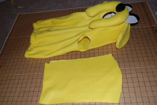 A Patchwork World  How To Make A Jake From Adventure Time Costume