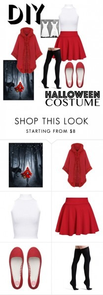 Diy Little Red Riding Hood Costume  By Makeuphobbyist ❤ Liked On