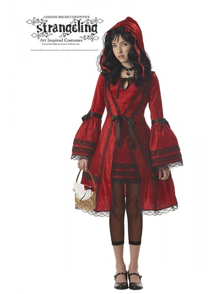 Tween Red Riding Hood Costume California Costumes 4022, 10 To 12