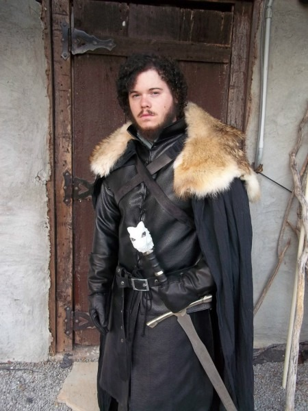 Game Of Thrones Song Of Ice And Fire Jon Snow Adult Men Cosplay