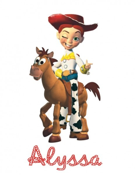 Pictures Of Toy Story Jessie And Bullseye