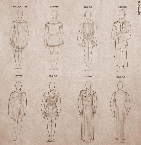 Ancient Greek Clothing For Men By Ninidu On Deviantart
