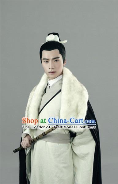 Asian Chinese Master Hanfu Dress Costume Clothing Oriental Dress