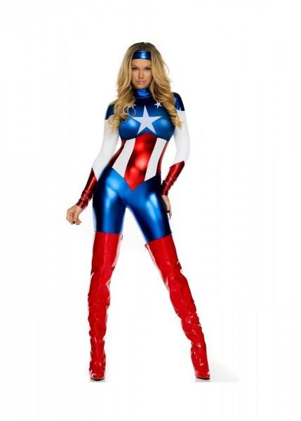 Astonishing Allegiance Sexy Hero Women Costume
