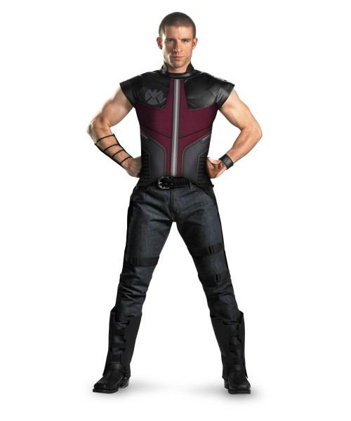 Adult Avengers Hawkeye Movie Superhero Costume