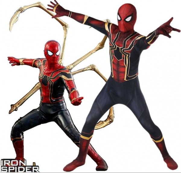 Avengers Infinity War Iron Spiderman Costume 3d Original Movie