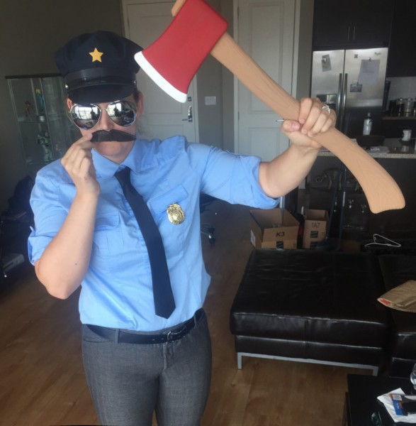 How To Make An Axe Cop Costume For Cosplay – Unified Pop Theory