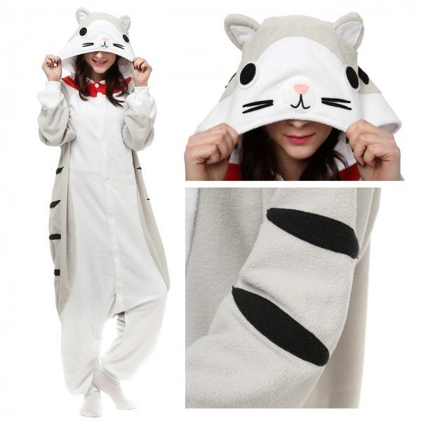 Tabby Cat Onesie, Tabby Cat Pajamas For Women & Men Online Sale