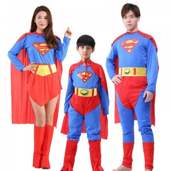 Matching Family Halloween Costumes Superhero Cosplay