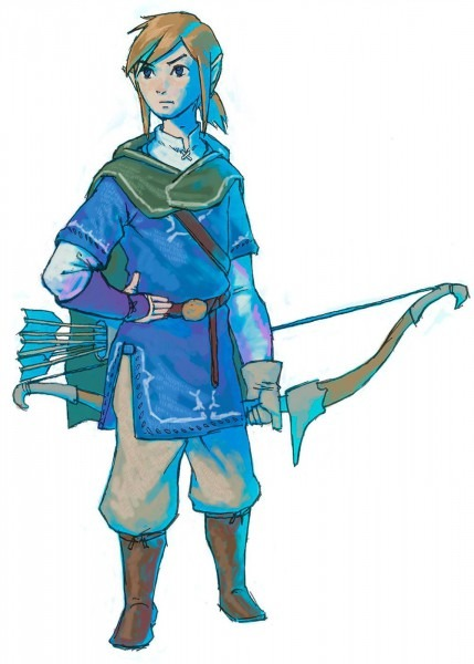 Link & Bow Concept From The Legend Of Zelda  Breath Of The Wild