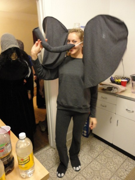 Awesome Elephant Halloween Costume Adult Or Kid By Housebold