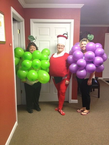 Adult Homemade Halloween Costume Fruit Of The Loom Fruit (front