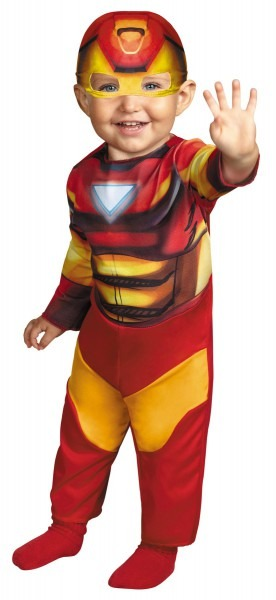 Iron Man Toddler Costume 12