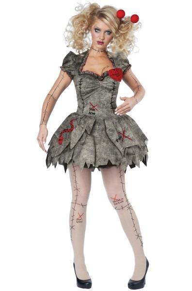 Voodoo Dolly Women's Adult Halloween Costume, L