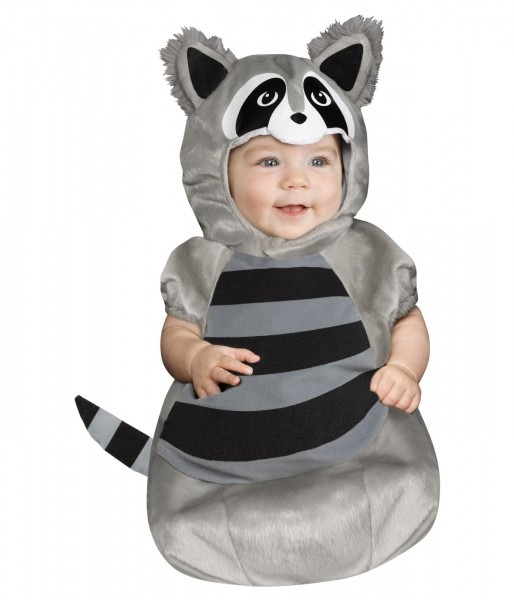 Baby Bunting Raccoon Cutie Halloween Animal Infant Costume