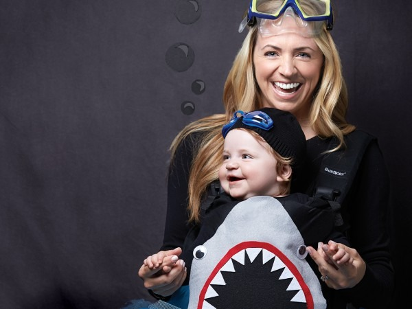 Baby Carrier Costume  Shark