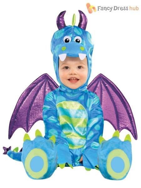 Baby Little Dragon Costume Kids Fancy Dress Book Week Outfit