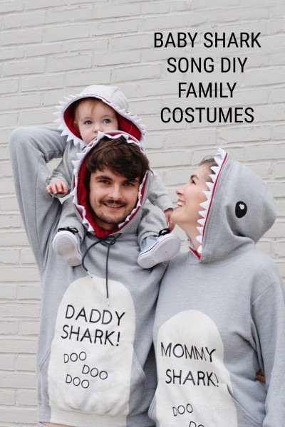 Baby Shark Song Costume