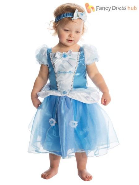 Baby Toddler Deluxe Disney Princess Costume Girl Fairytale