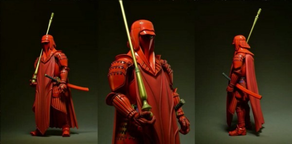 Bandai  Star Wars Movie Realization Boba Fett, Imperial Guard, And