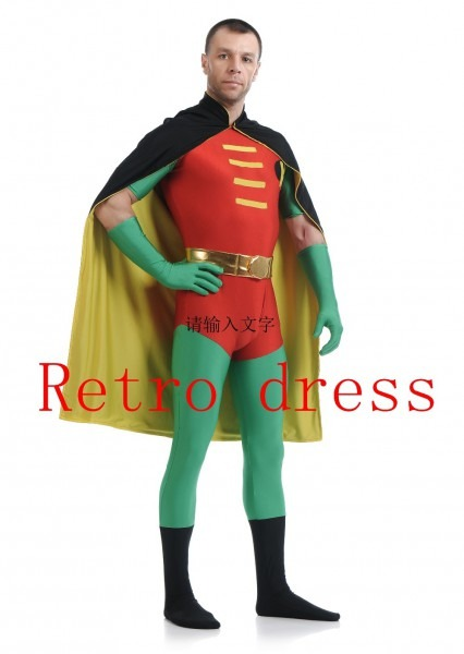 Batman Robin Cosplay Costume Man Batman Suit Halloween Costume Set