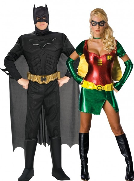 3 Batman And Robin Halloween Costumes For Girls, Womens Sexy