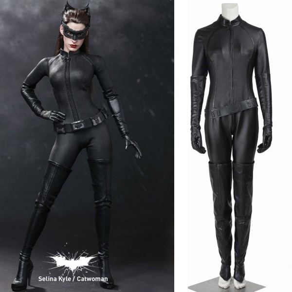 Batman The Dark Knight Rises Sexy Catwoman Selina Kyle Cosplay