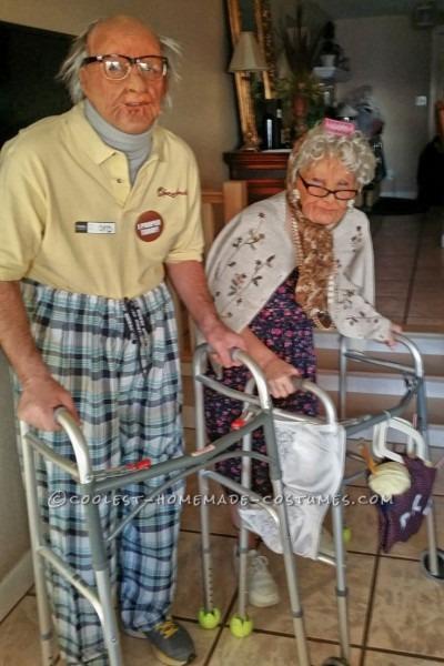 45 Old Costume Ideas, Kids Grandpa Costume