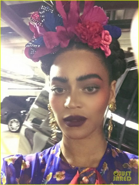 Beyonce Stuns As Frida Kahlo For Second Halloween Costume  Photo