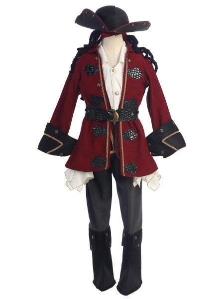 Boys Delux Pirate Costume