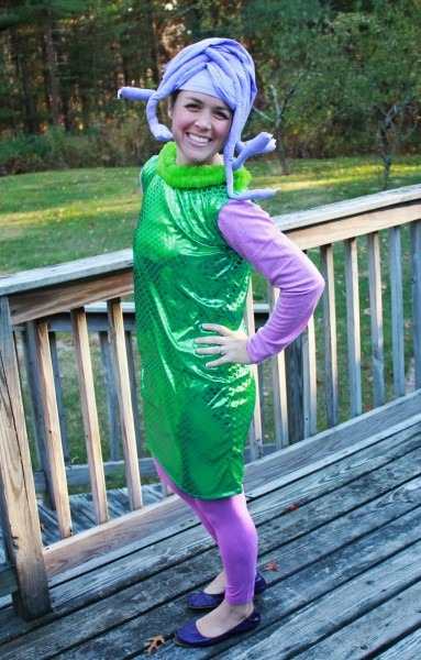 High Heels To Sneakers  Monsters Inc Costumes How To