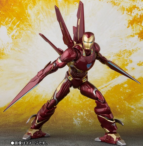 Sh Figuarts Iron Man Mark 50 & Nano Weapons Set Up For Order