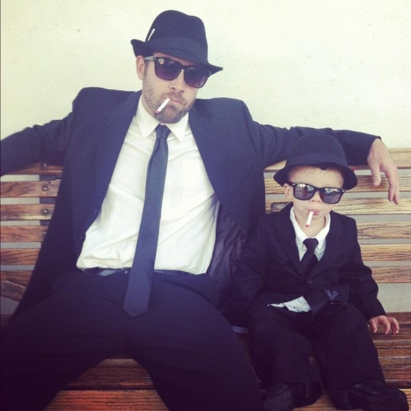 Blues Brothers Father Son Costumes Oh Lovely Day, Father And Son