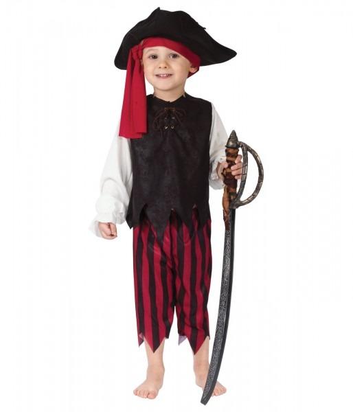 Caribbean Pirate Baby Boys Costume