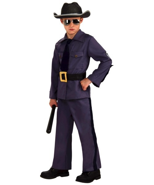 State Trooper Kids Police Officer Costume