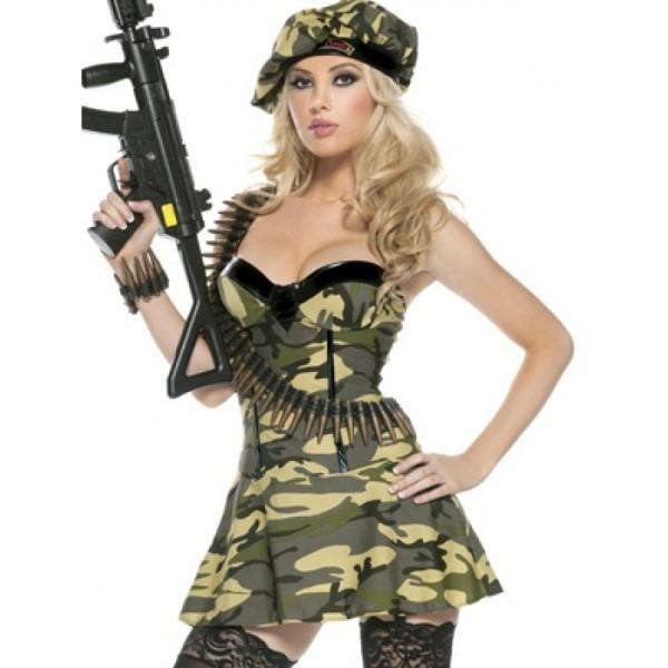 Private Ambush Adult Womens Costume