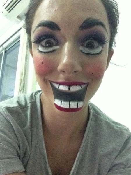 Scary China Doll, Halloween Makeup Ideas
