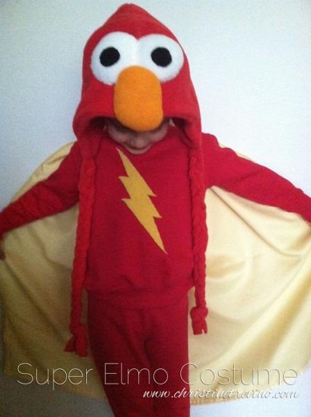 Super Elmo Costume