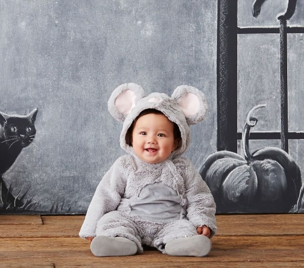 Cozy Baby Mouse Costume