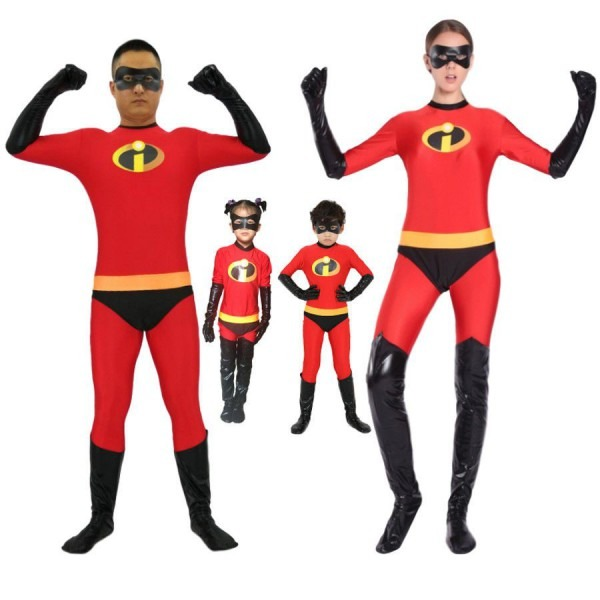 The Incredibles Costume Family Matching Elastigirl Violet Parr
