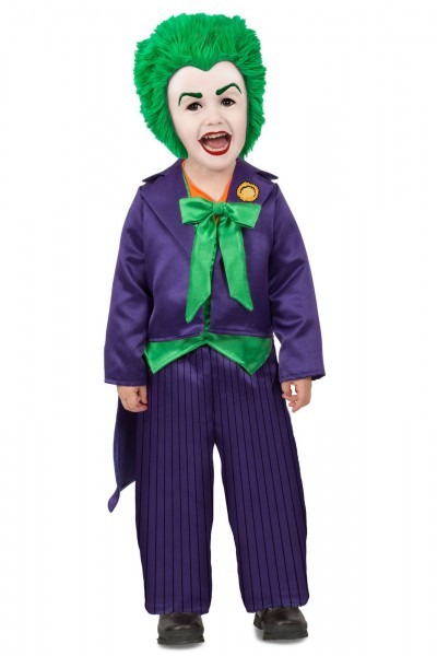 Premium The Joker Toddler Infant Baby Boys Child Costume New