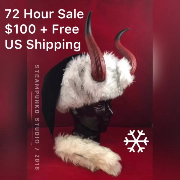 72 Hour Krampus Hat Sale  Krampus  Hat  Santa  Christmas  Holiday