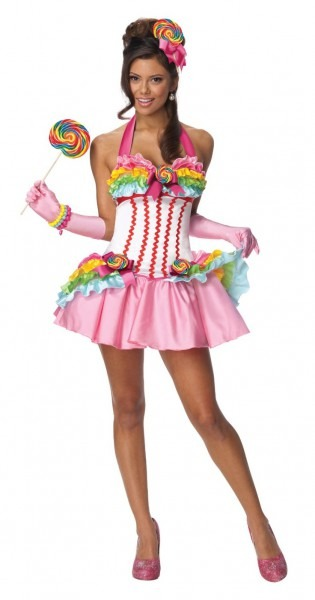 Candyland Costumes (for Men, Women, Kids)