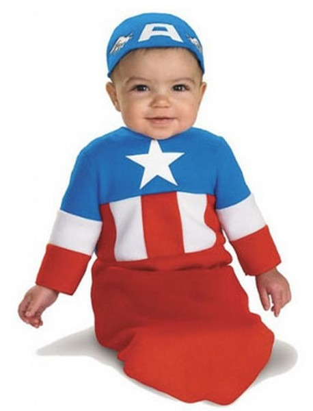 Captain America Baby Bunting Costume