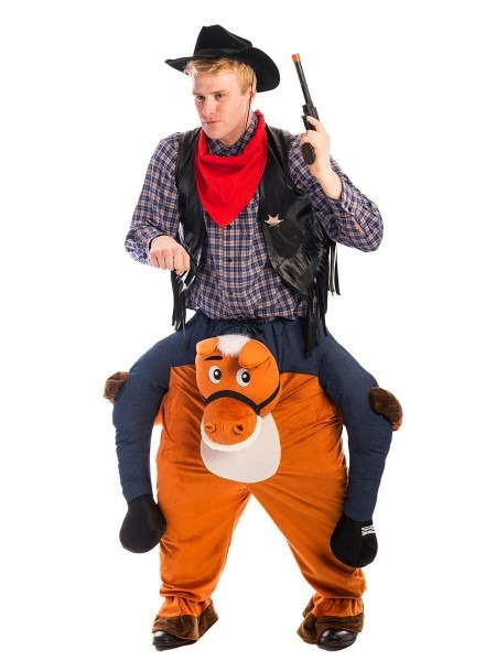 Cowboy Carry Me Costume