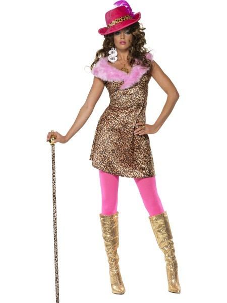 Casual Pimp Lady Costume