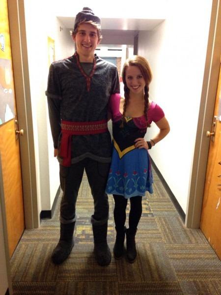 Princess Anna & Kristoff Halloween Costumes!