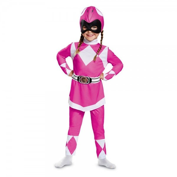 Halloween Toddler Girls' Power Rangers Mighty Morphin Pink Ranger