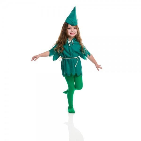 Toddler Peter Pan Halloween Costume Size 2t