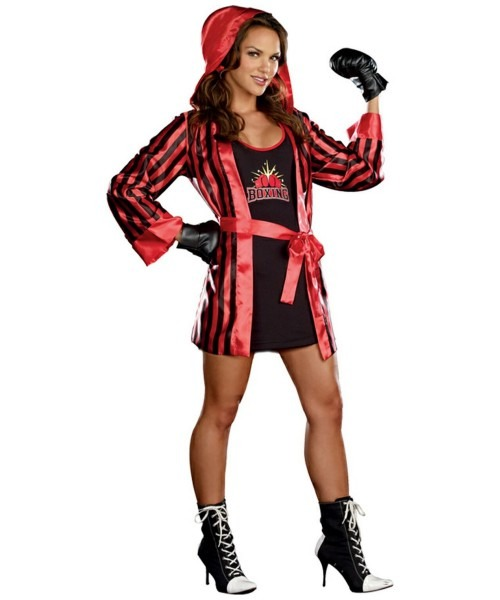 Adult Champ Boxer Sports Costume